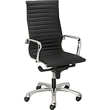 staples silverio bonded leather executive high back chair black bedroomalluring members mark leather executive chair