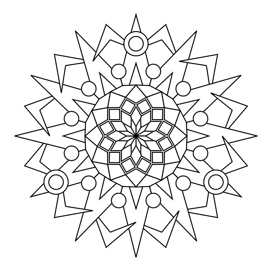 Print And Color Mandalas Online Make Your Own