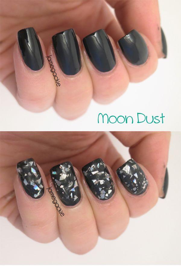 Swatch Revlon Moon Candy Nail Art Moon Dust Jamegackie Nails