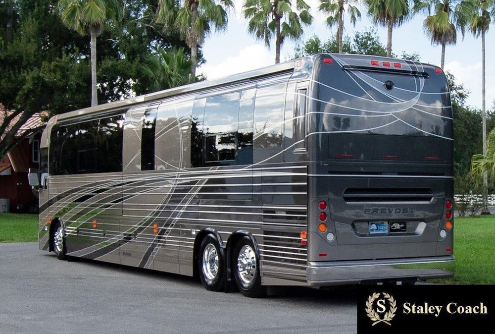 2019 Prevost Florida Coach X3double Slide 46311 Microwave With