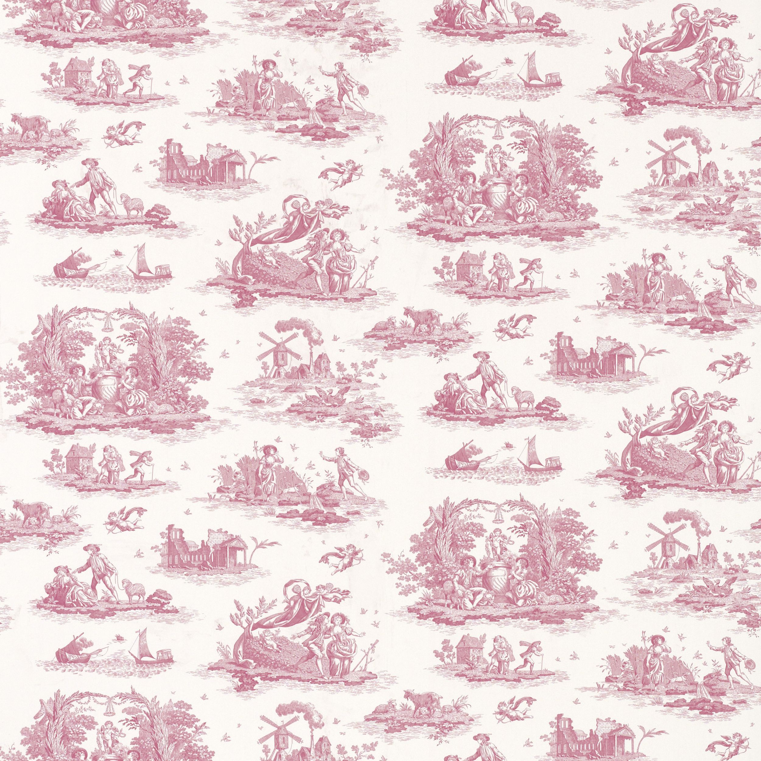 Laura Ashley Wallpaper I Ve Bought For My Bathroom At Last Toile Wallpaper Beautiful Bedroom Inspiration Victorian Paintings,Corner Kitchen Cabinet Storage