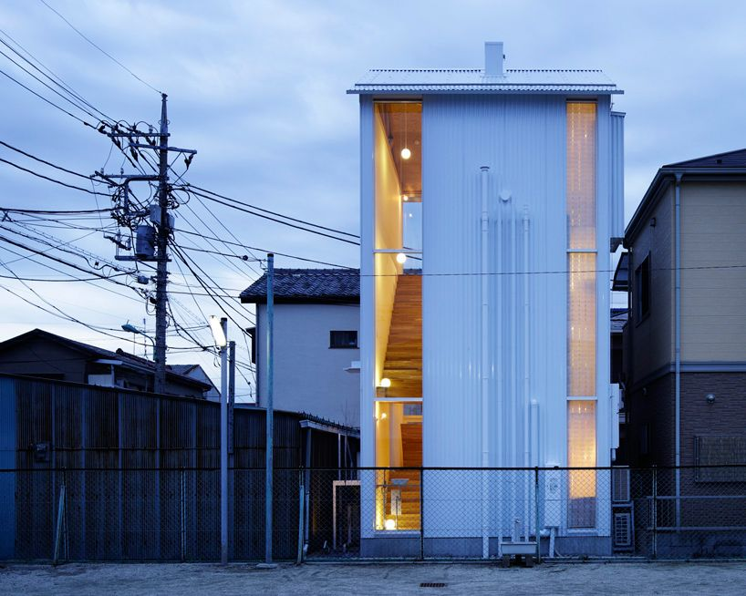 takahashi maki small house shiokami daisuke white hut japan exterior - Japanese Architecture Small Houses