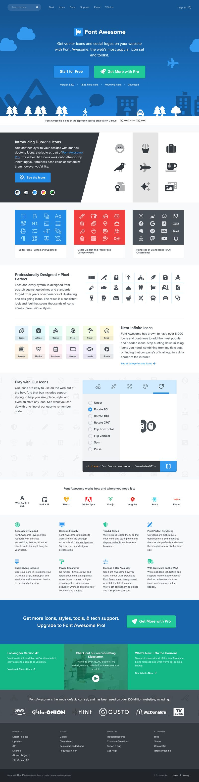 WebDesign Font Awesome The worlds most popular and