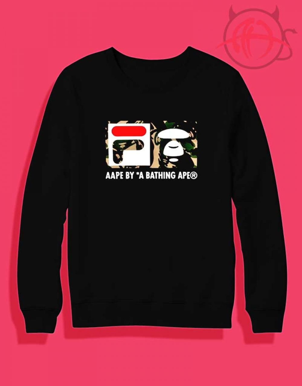 6749398eb18d Fila Collab Bape Camo Design Sweatshirt $ 27.50 #Tee #Hype #Outfits #Outfit  #Hypebeast #fashion #shirt #Tees #Tops #Teen