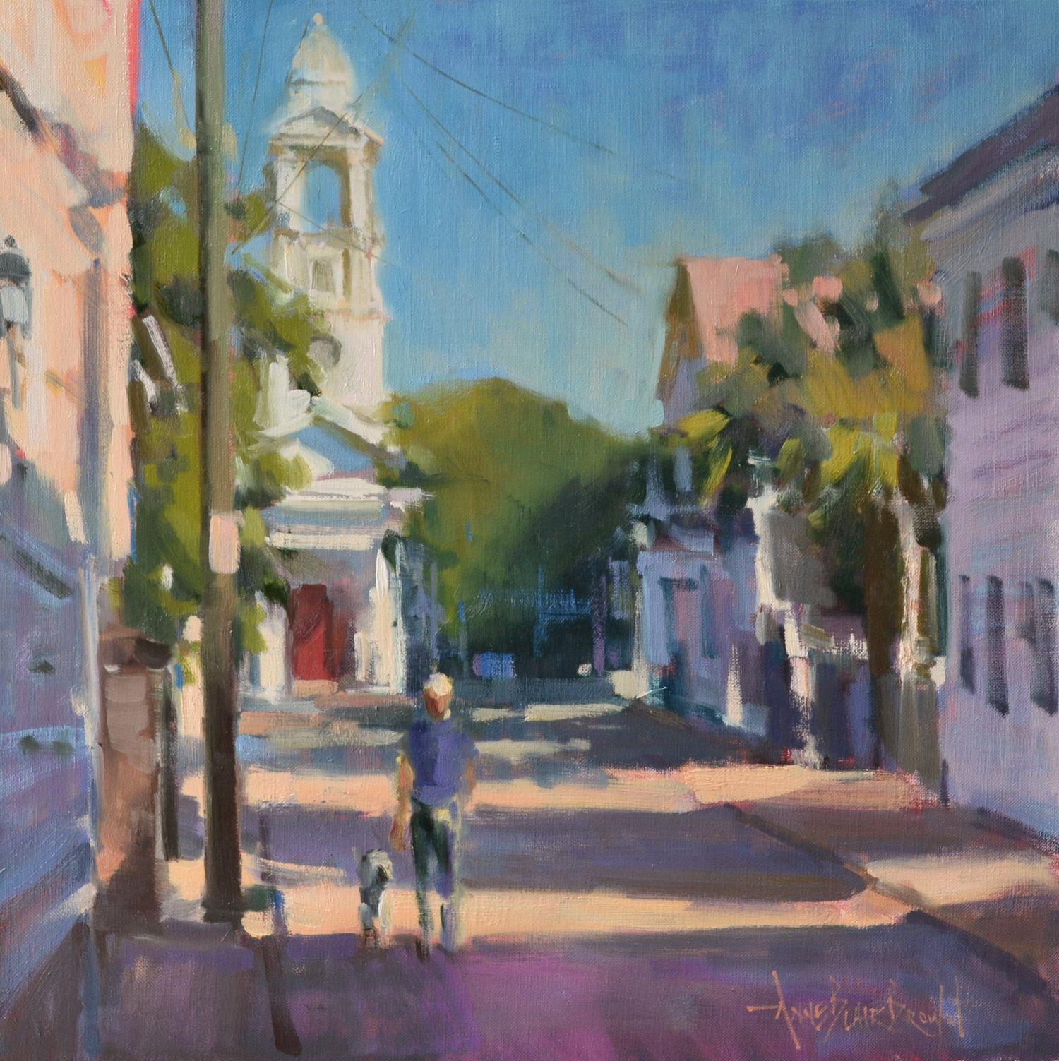 Paintings — Anne Blair Brown Painting, Brown painting