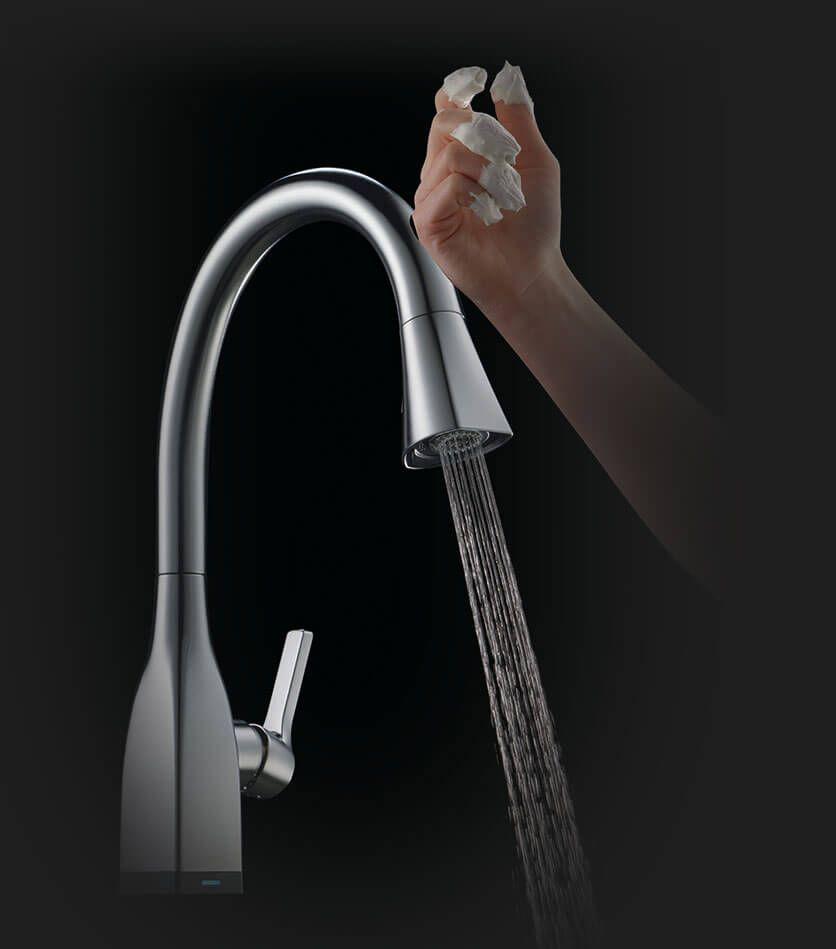 touch2o touch faucet technology