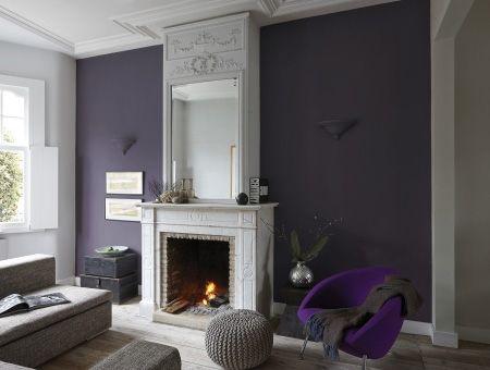Fijngevoelig paars geeft een interieur de nodige finesse om een ...