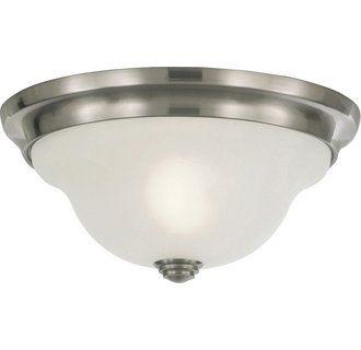 Murray Feiss FM250 Morningside 1 Light Wrought Iron Flush Mount Ceiling Fixture
