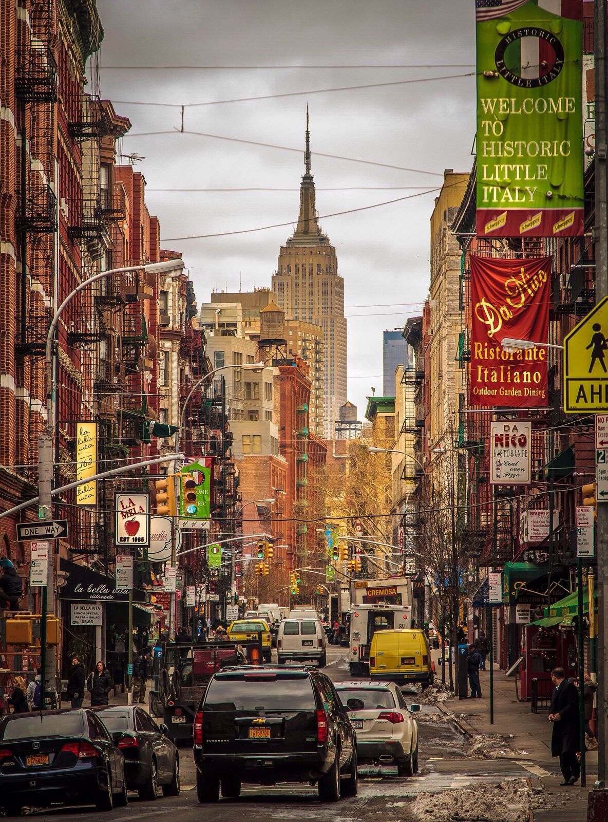 Classic NYC Little Italy I WILL Visit Here One Day.a