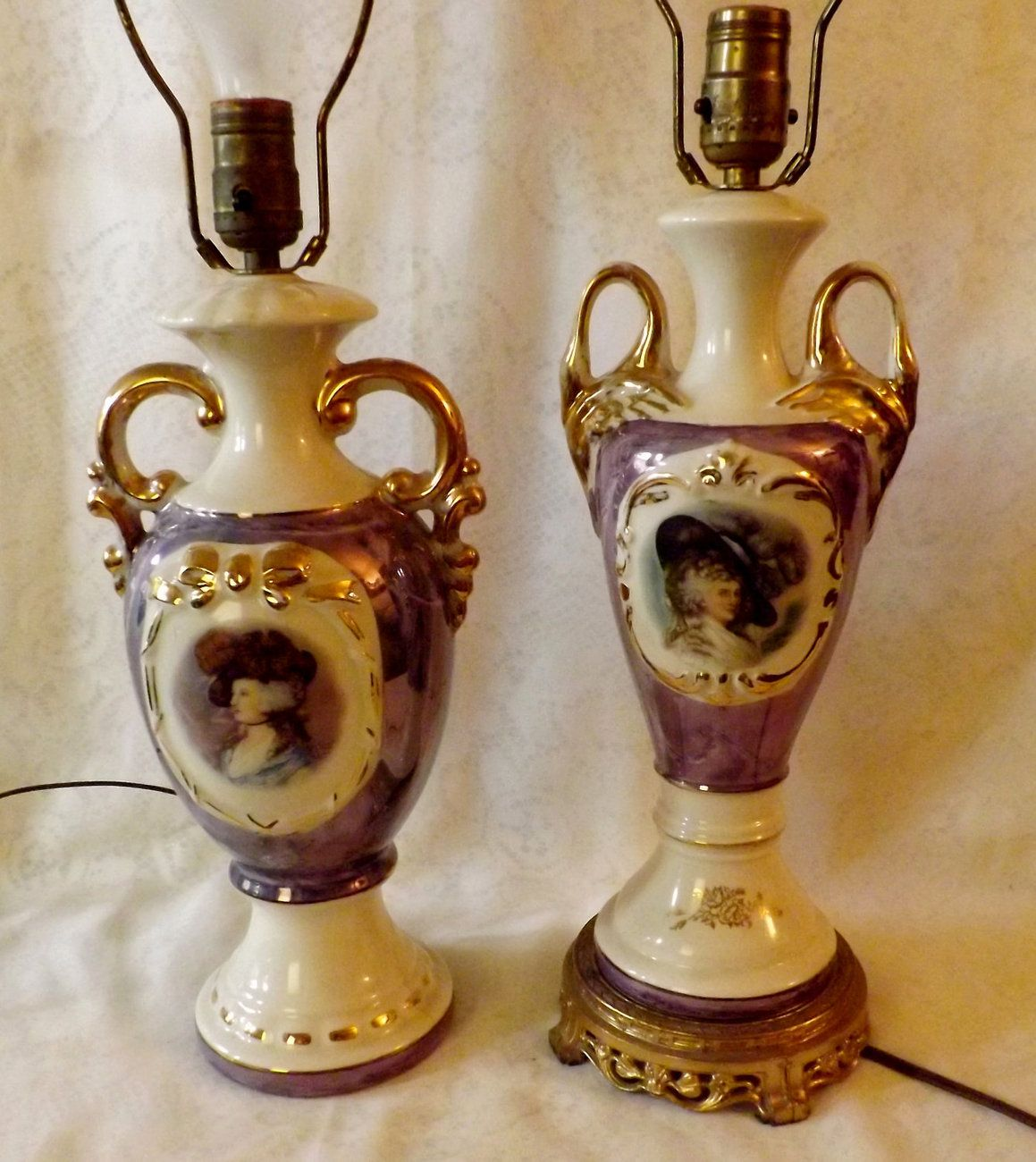 Antique Style Table Lamps 187 Antique Vintage Victorian