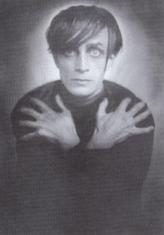 Conrad Veidt As Cesare For Das Cabinet Des Dr Caligari Franz Xaver
