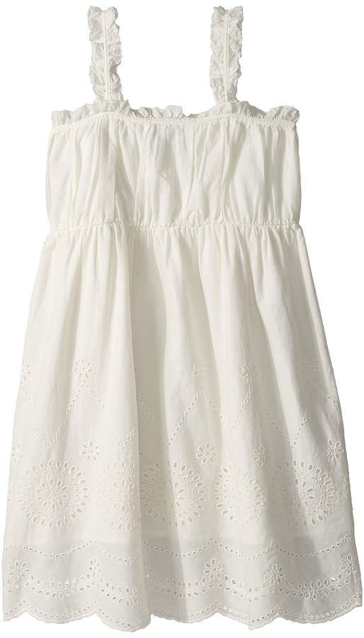 Stella McCartney Kids Girls Anemone Eyelet Dress