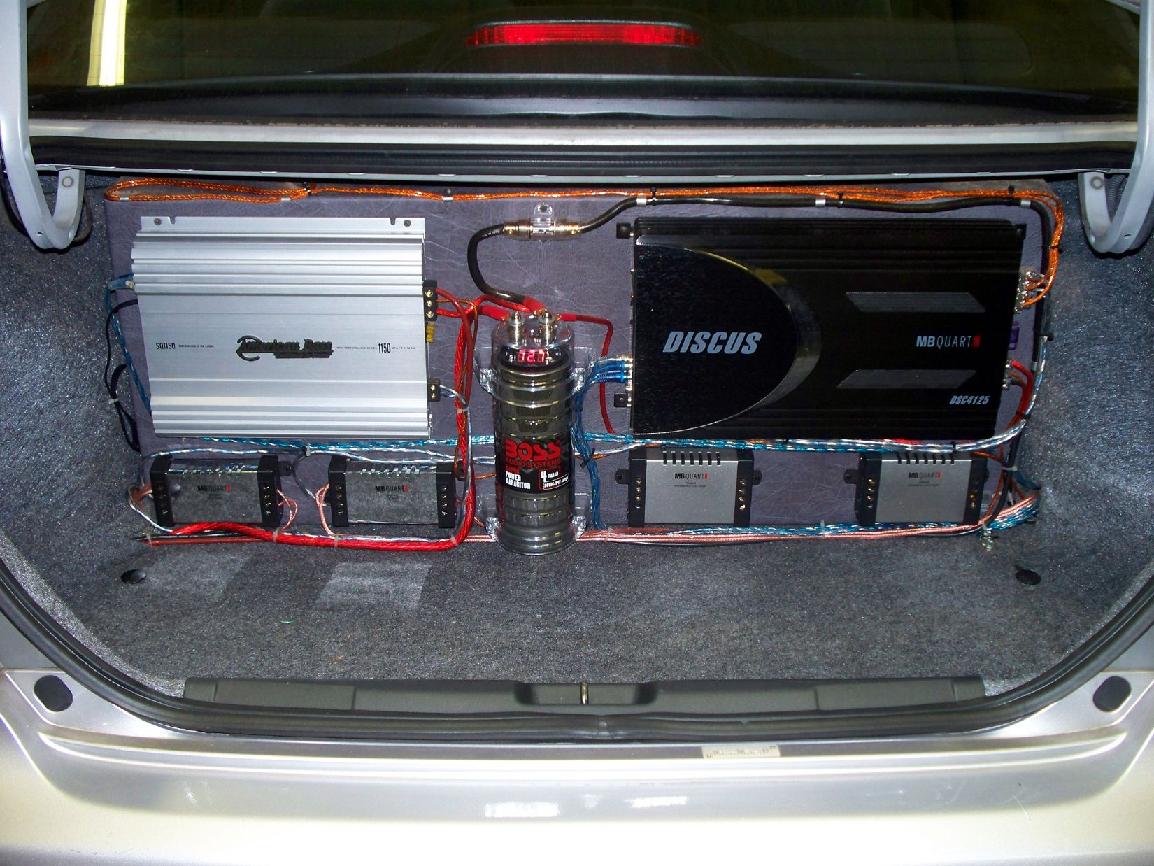 Take your car audio to the next level by adding a subwoofer and amplifier