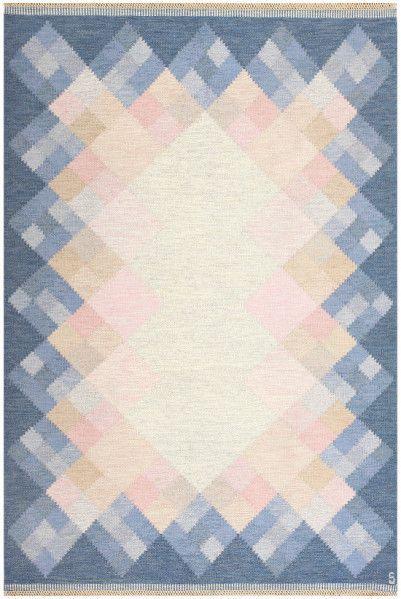Vintage Swedish rug by Brtitta Swefors
