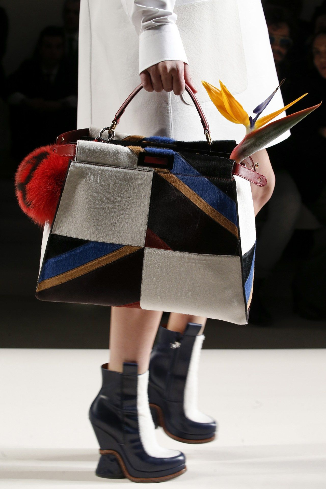 See detail photos for Fendi Fall 2015 Ready-to-Wear collection. Fashion Week aa260fe450b