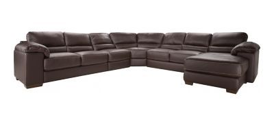 Super Cindy Crawford Maglie 5 Pc Leather Sectional Sofa Forskolin Free Trial Chair Design Images Forskolin Free Trialorg