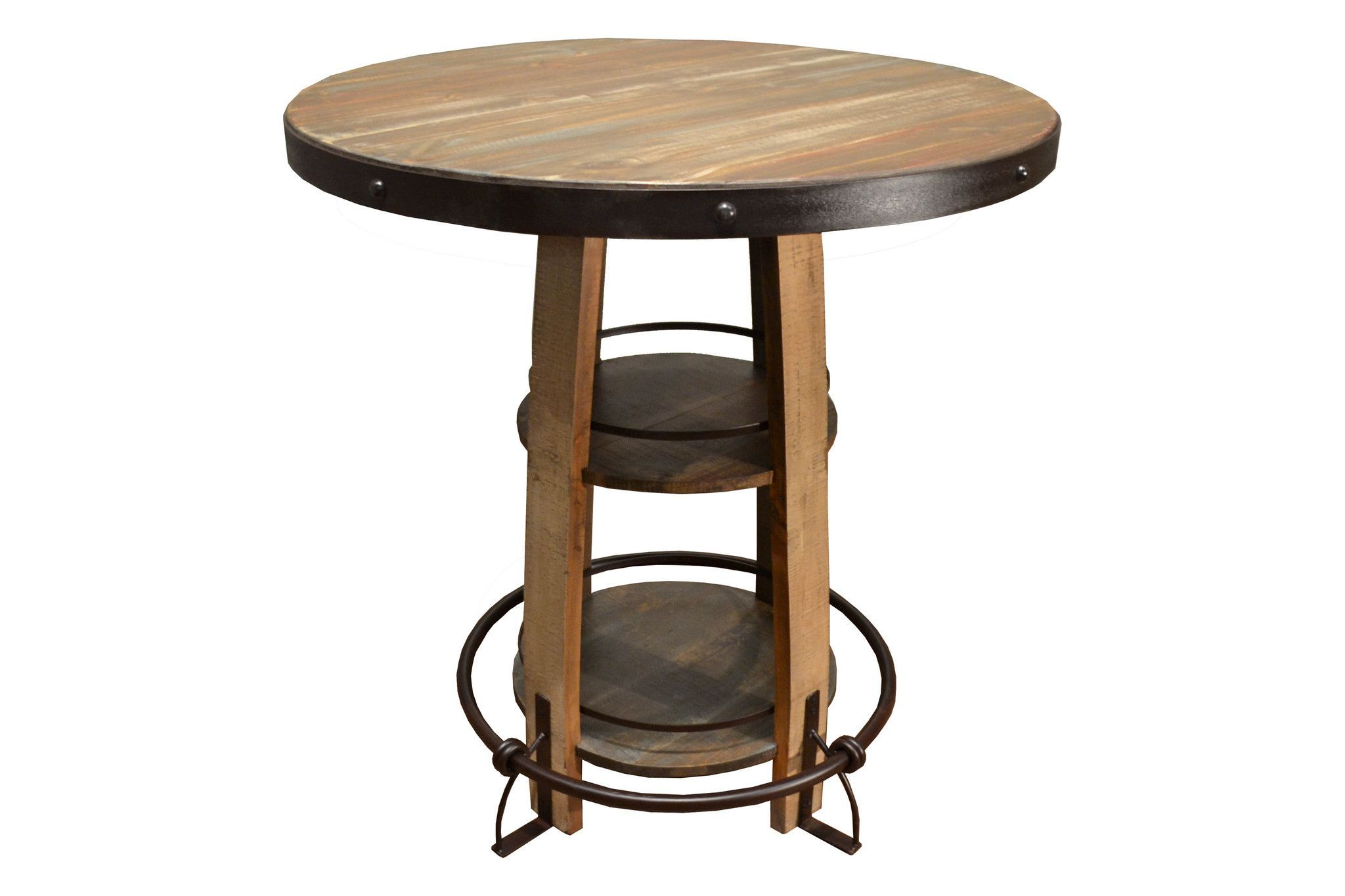 Bayshore Multi Color Pub Table Pub Table Pub Table Sets Dining Table Rustic