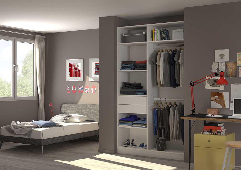 comment am nager le placard de votre enfant un dressing pour une chambre toujours bien rang e. Black Bedroom Furniture Sets. Home Design Ideas