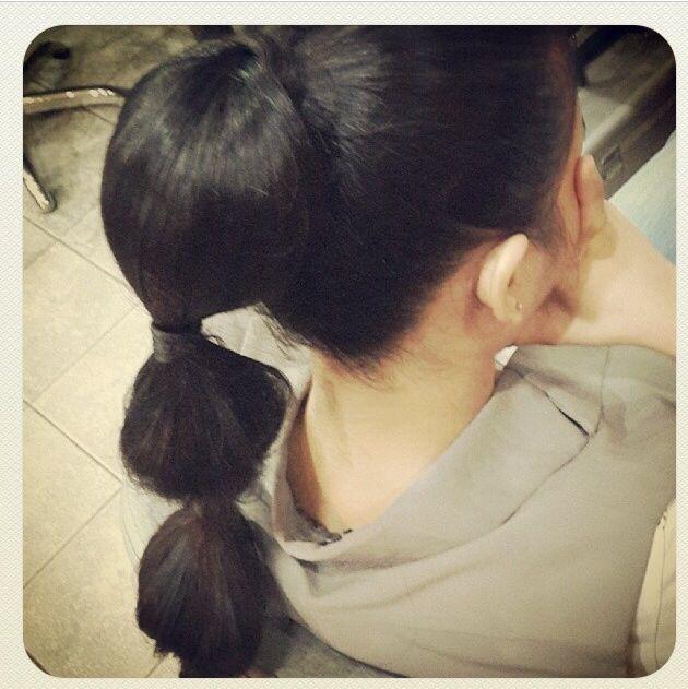 Long hair do ...