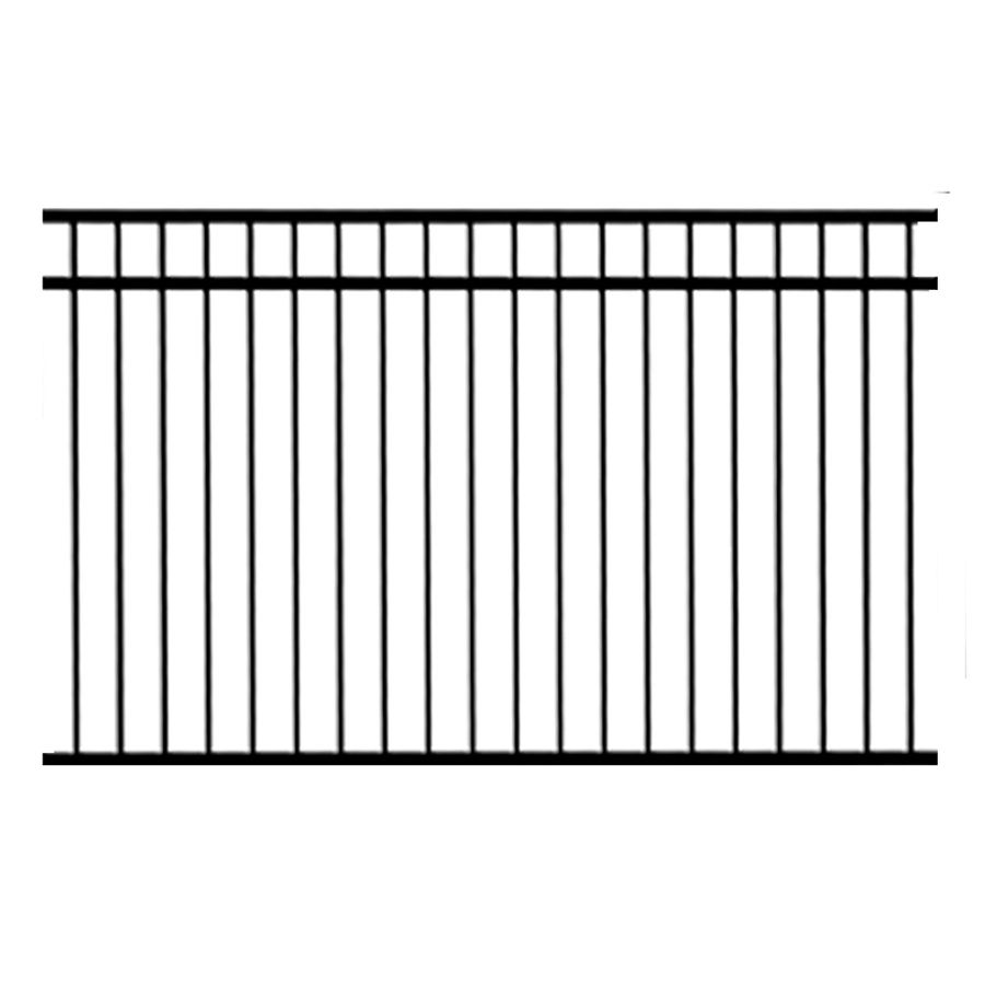 Ironcraft 3-Pack Black//Powder-Coated Metal Aluminum Fence Swivel Brackets