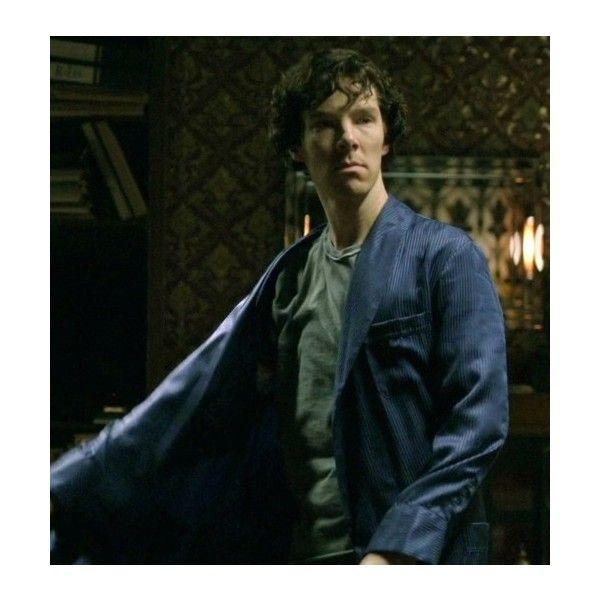 Sherlock Holmes Dressing Gowns  Derek Rose ❤ liked on Polyvore ...