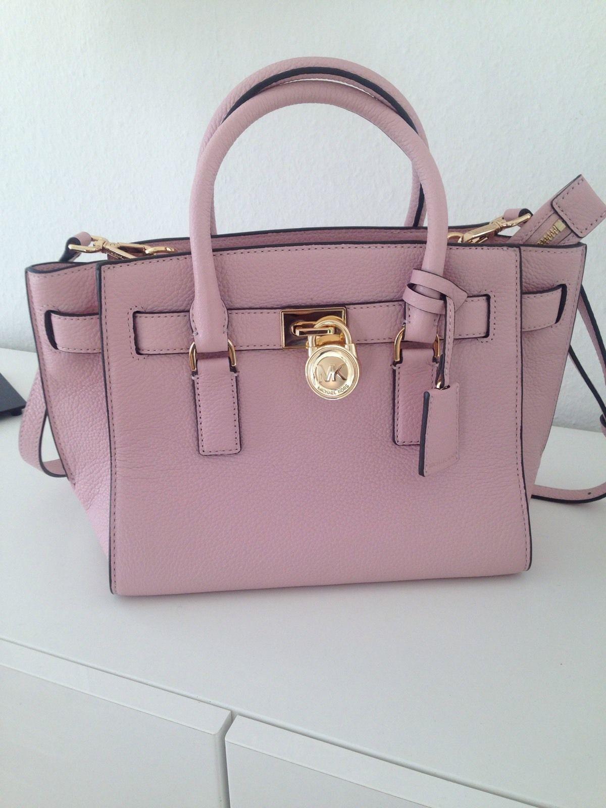 de70d7dd2f9 Michael Kors Tasche Hamilton Traveller Traveler Rosa Blossom Echtes Leder  229,00€ ♥️