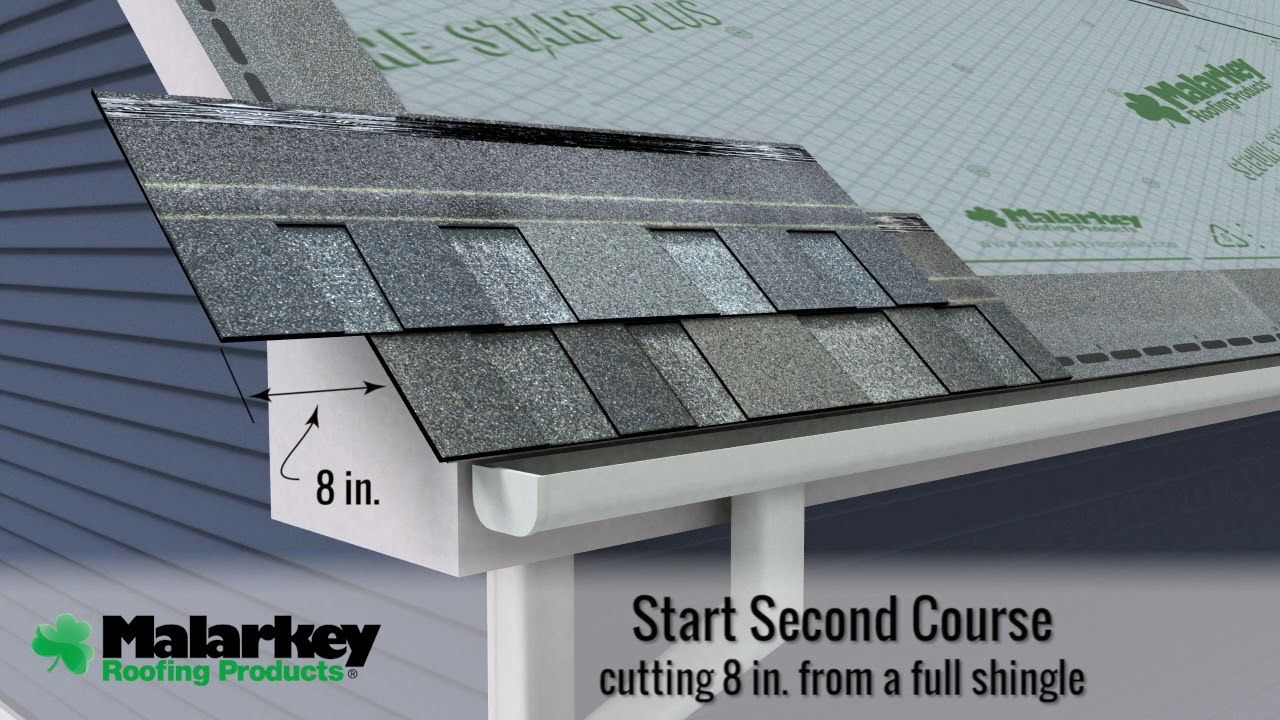 Best How To Install Laminate Architectural Shingles By Malarkey 400 x 300