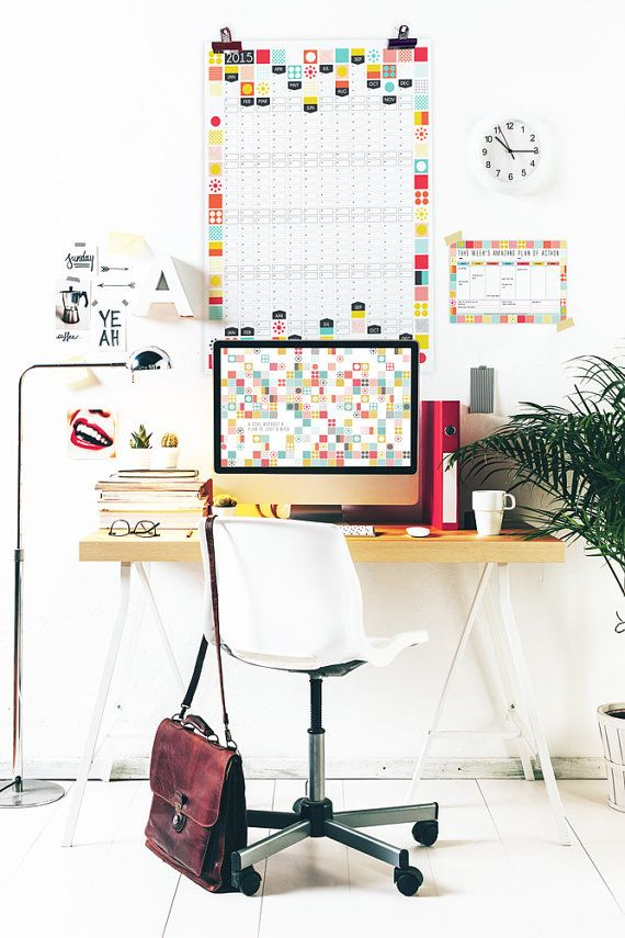 Hey, I found this really awesome Etsy listing at https://www.etsy.com/listing/213856325/wall-planner-2015-calendar-office