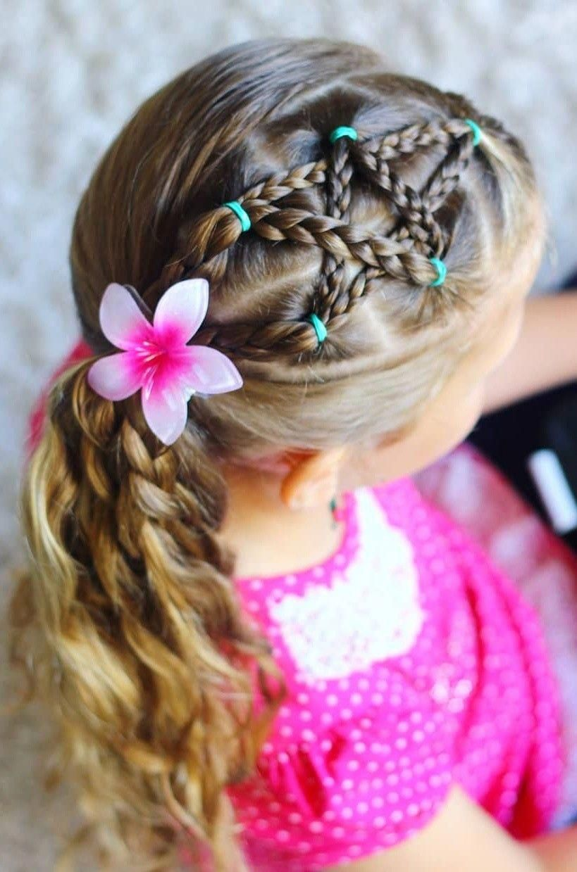 cute hairstyles for kids | cute simple little girl