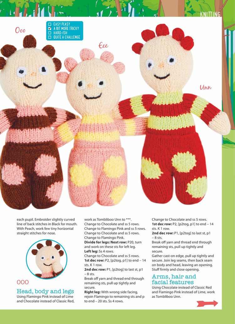 Womans Weekly Knitting Crochet July 2017