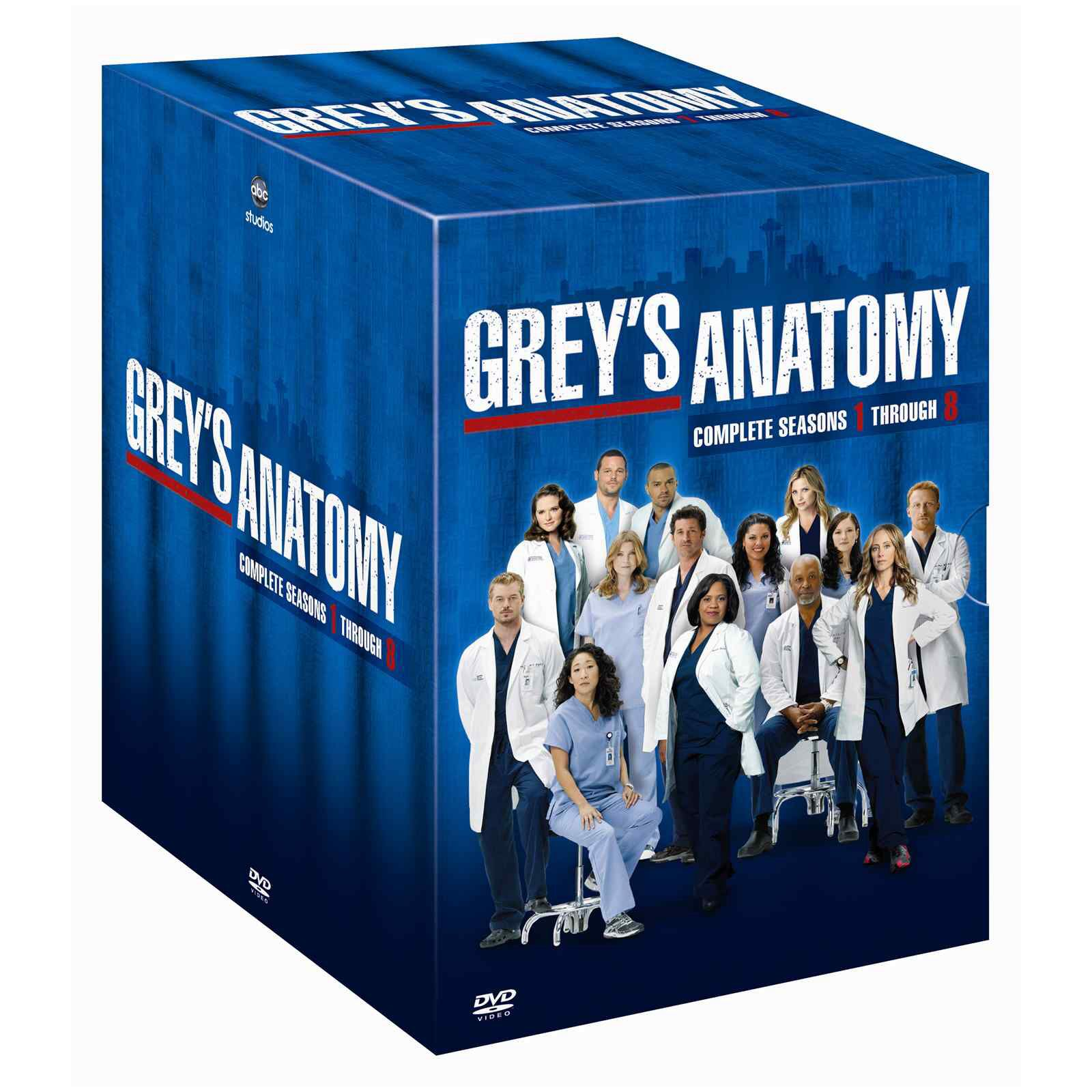 Greys anatomy box set! | Grey\'s Anatomy | Pinterest | Grays anatomy ...