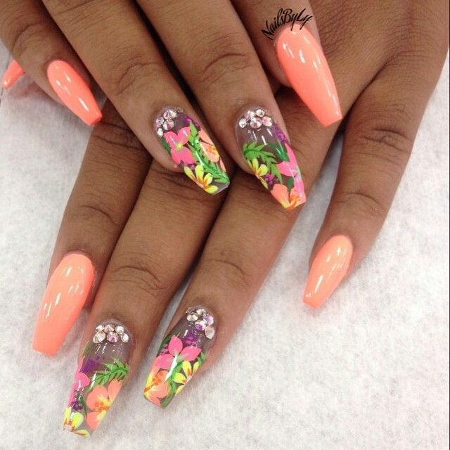 Nails By Ly Colate Estive Pinterest Nail Designs Nails E