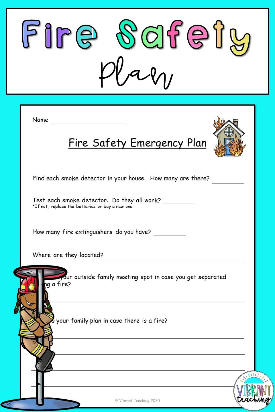 Fire Safety Plan Free Fire Safety Tips Fire Safety For Kids Free Fire Safety Printables [ 1440 x 960 Pixel ]
