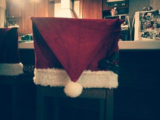 Copri Sedie ~ Copri sedie natalizio natale