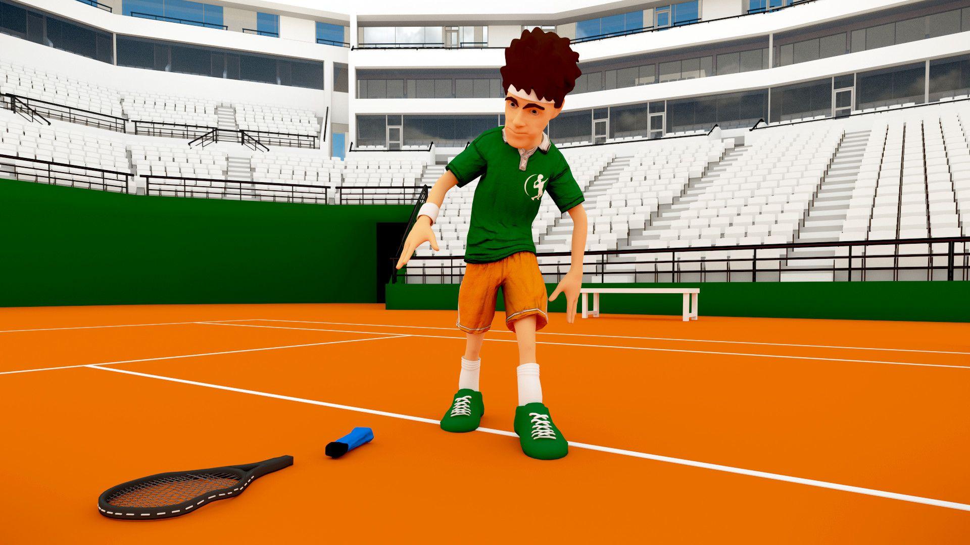 Artstation Tennis Court Syed Muzakkir Faiyaz Tennis Court Tennis Tennis Players