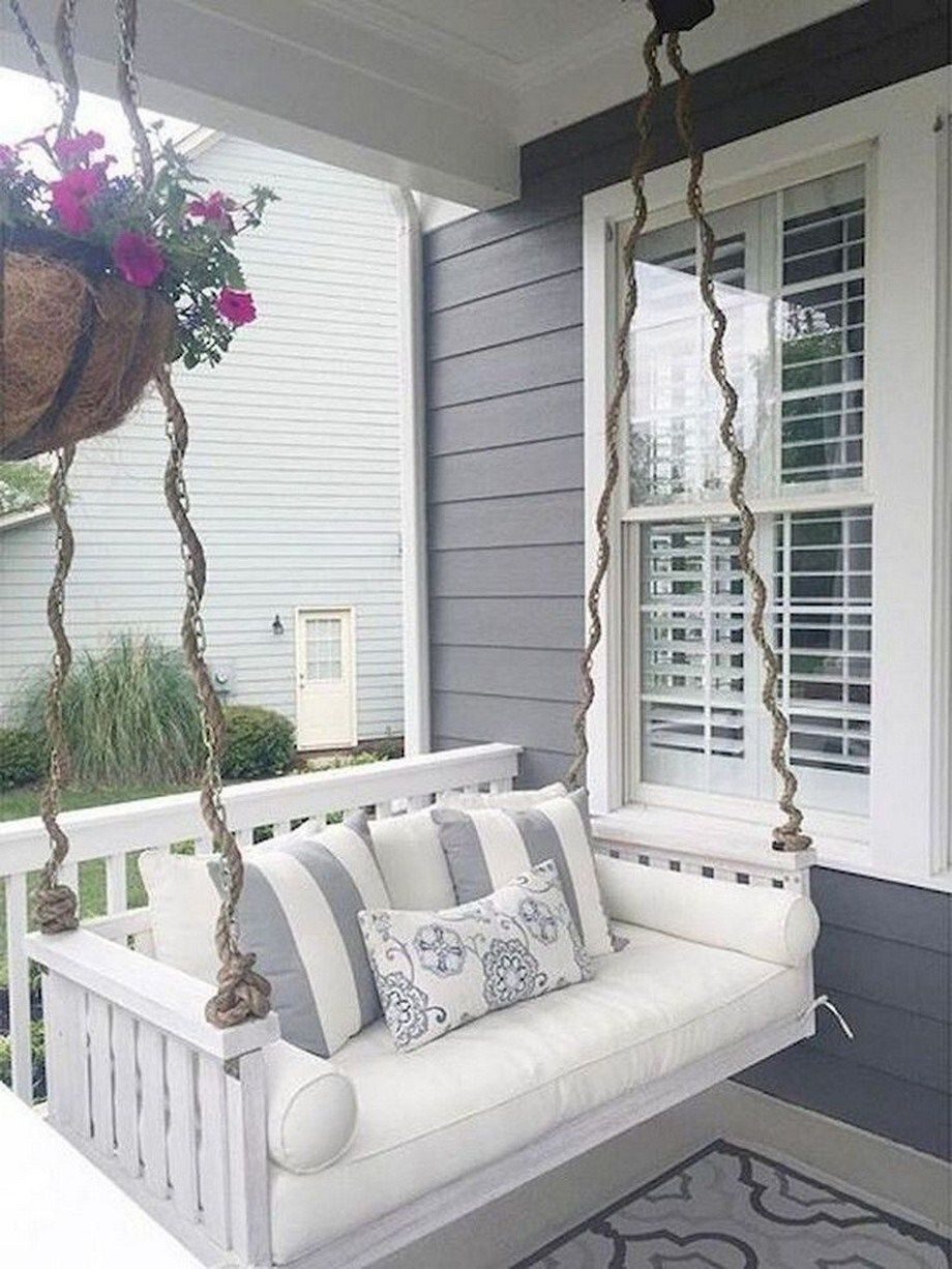 36 Stunning Small Porch Decorating Ideas Frontporchdecorating Porchdecoratingideas Decoratingideas Sas Porch Swing Porch Decorating Front Porch Decorating