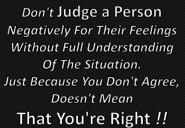 Dont judge. ...