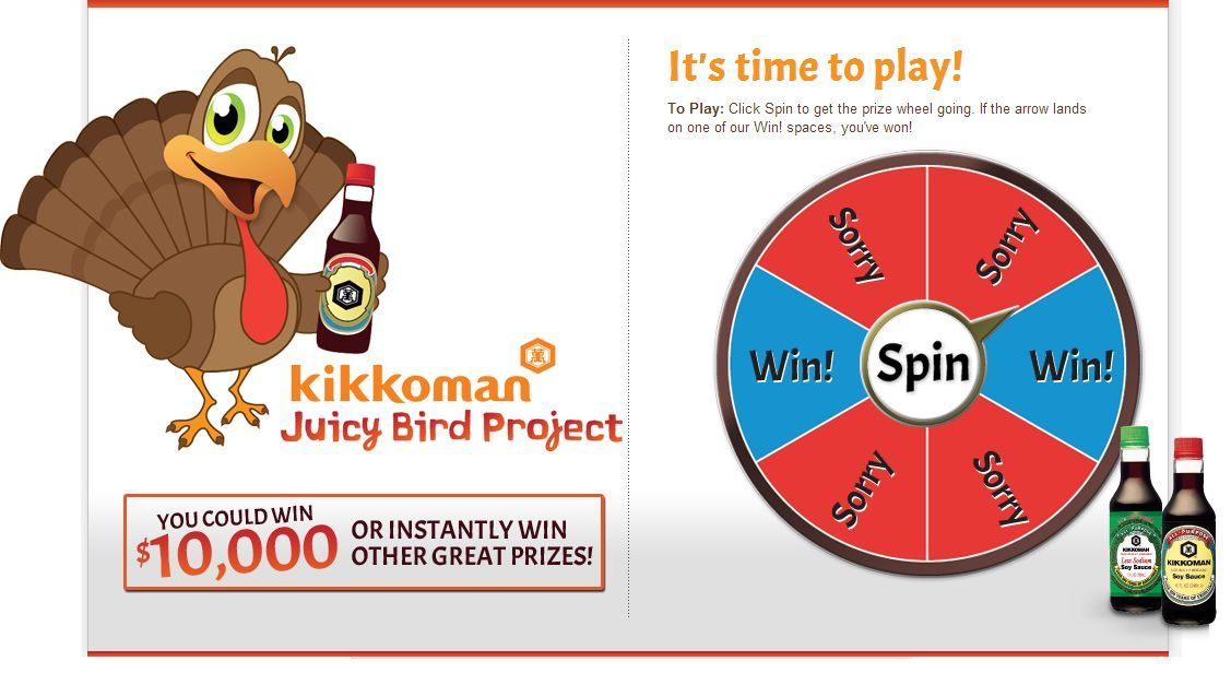Kikkoman - Juicy Bird Sweepstakes
