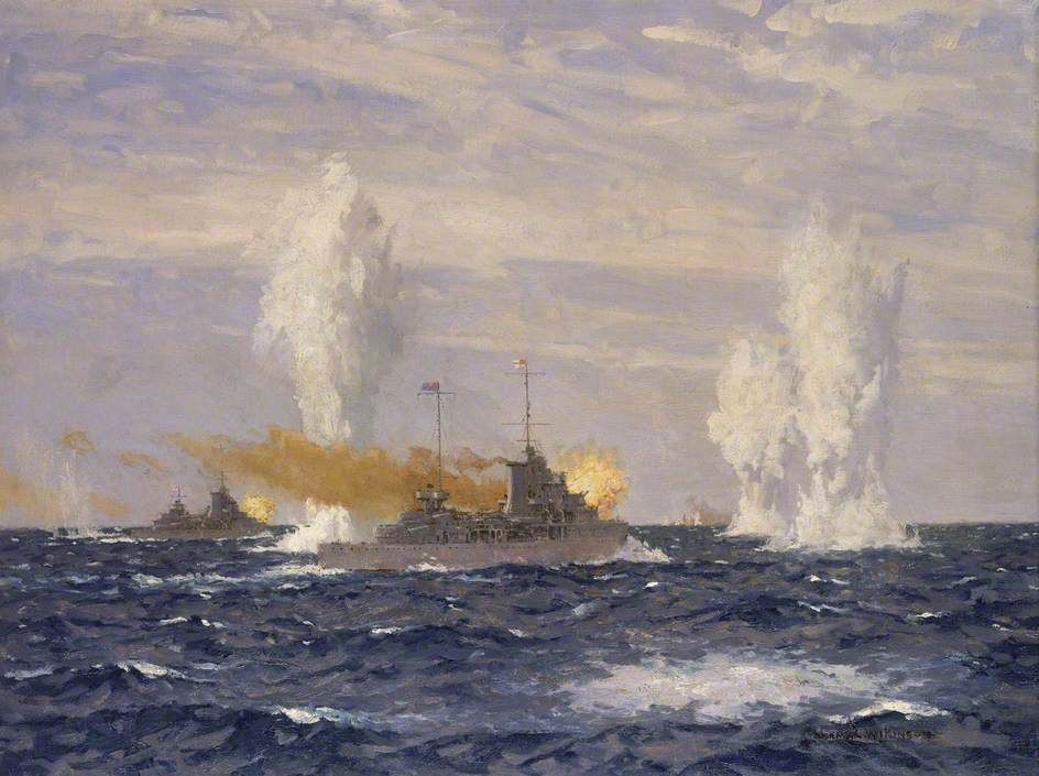 Action Off The River Plate 13 December 1939 Pursuit Of The