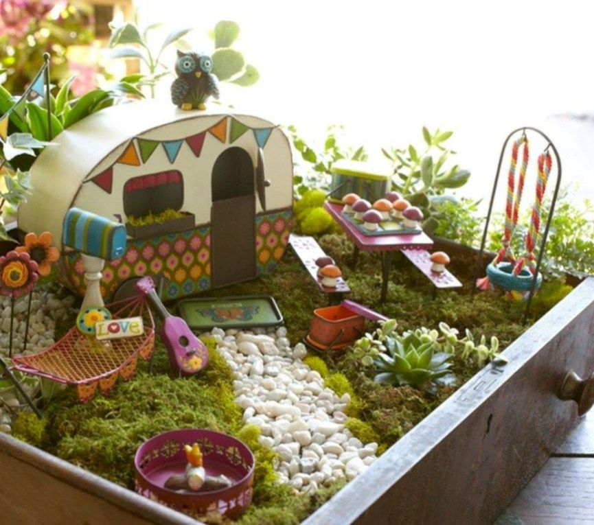 38 Super Easy Diy Fairy Garden Ideas With Images Fairy Garden