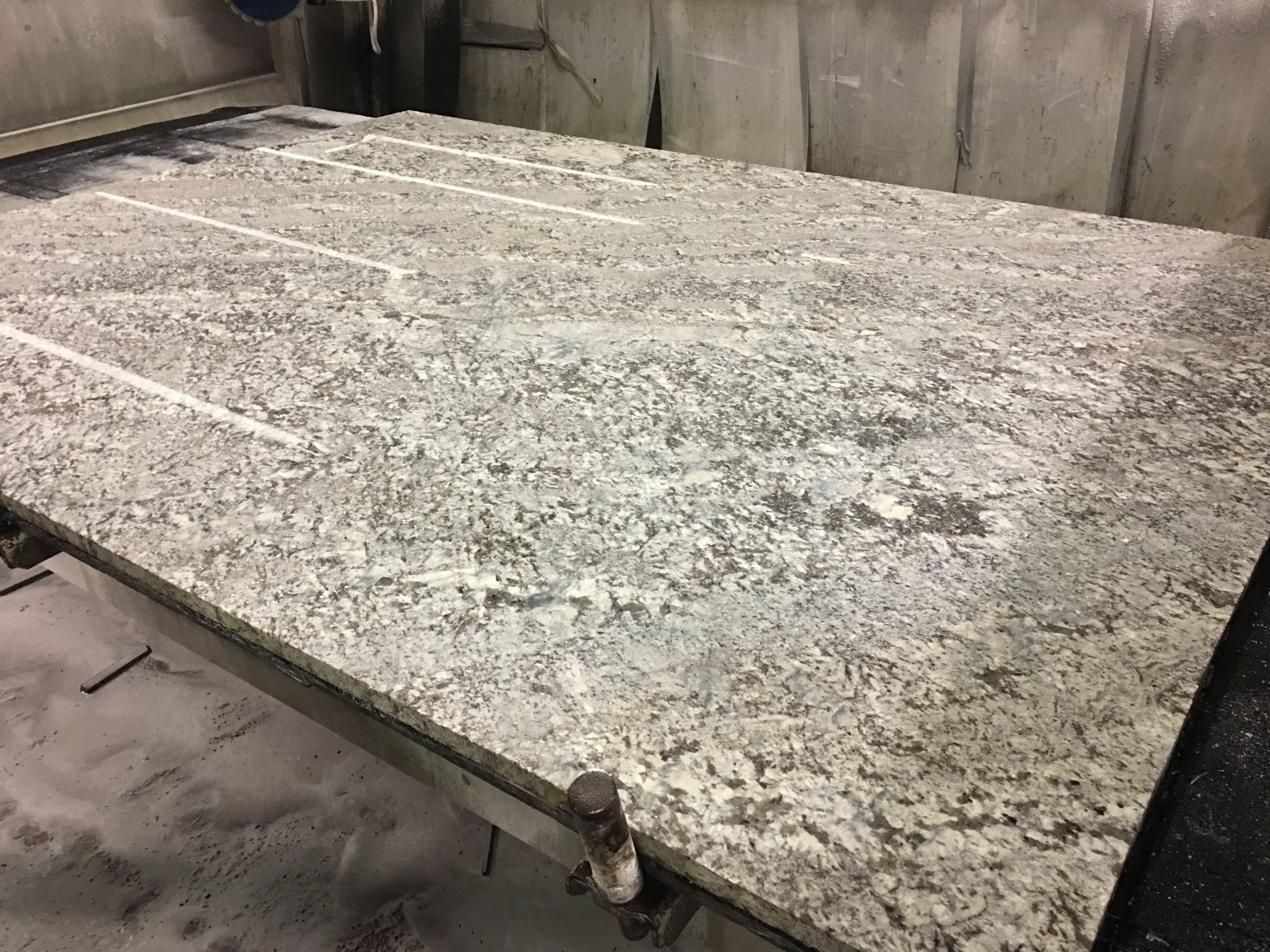 Lennon Vintage Granite Slab Ready To Be Cut Into Worktops