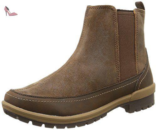 Merrell EMERY ANKLE Damen Kurzschaft Schlupfstiefel, brown, 42.5 EU - Chaussures merrell (*Partner-Link)