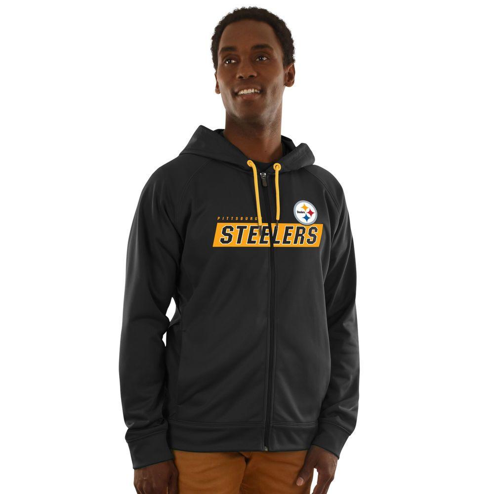 wholesale dealer e82ba b3822 Pittsburgh Steelers Game Elite Zip-up Hoodie (eBay Link ...