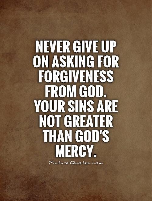 Gods Mercy Quotes