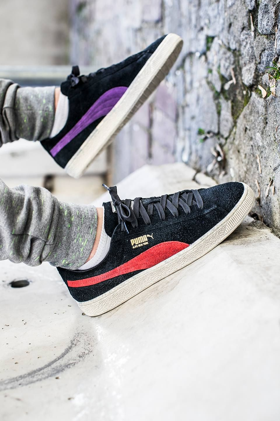 a4ecc2c1b3a ALIFE x PUMA Suede  Black Amazon Shoe discount and cool clothes at http