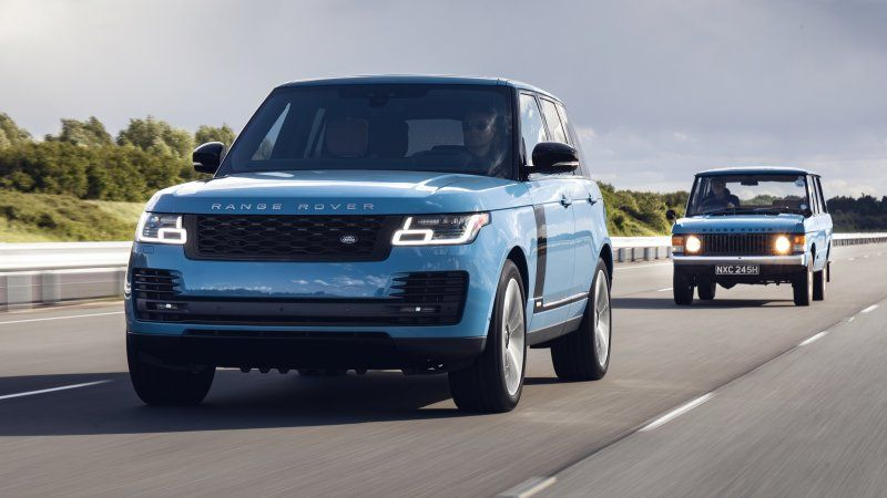 2021 Land Rover Range Rover Fifty Edition Announced Range Rover Range Rover Supercharged Land Rover
