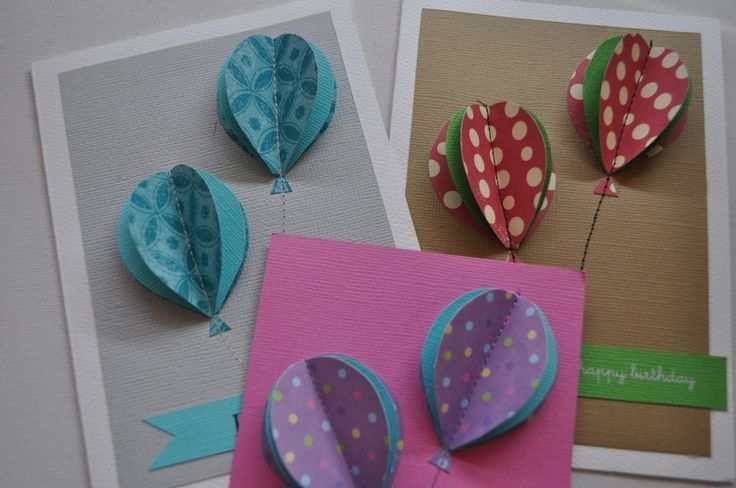 Making Handmade Cards Ideas Part - 37: Handmade Greeting Cards Featuring Balloons Are Perfect For Birthday Cards,  Pop-up Cards, And Much More. Get The Inspiration And Tutorials You Need To  Make ...