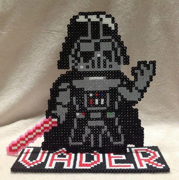 Hama Perler Beads Star Wars Empire Logo Bugelperlen Youtube