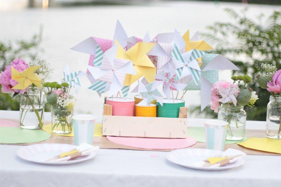 [Tuto] Centre de Table,champêtre, Moulins à vent par @mymycrakra