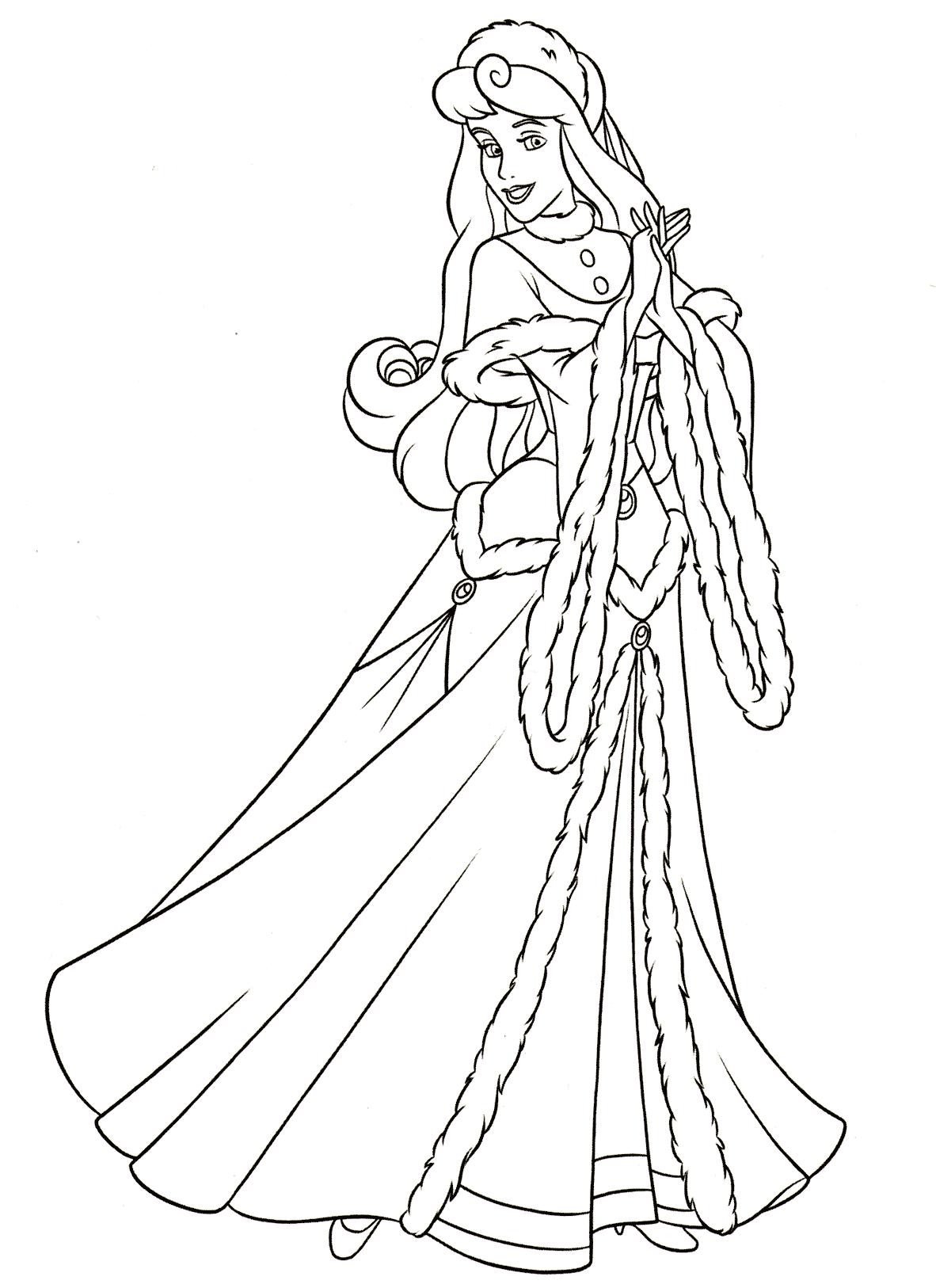 Спящая Красавица в зимнем наряде - Принцессы Дисней ...